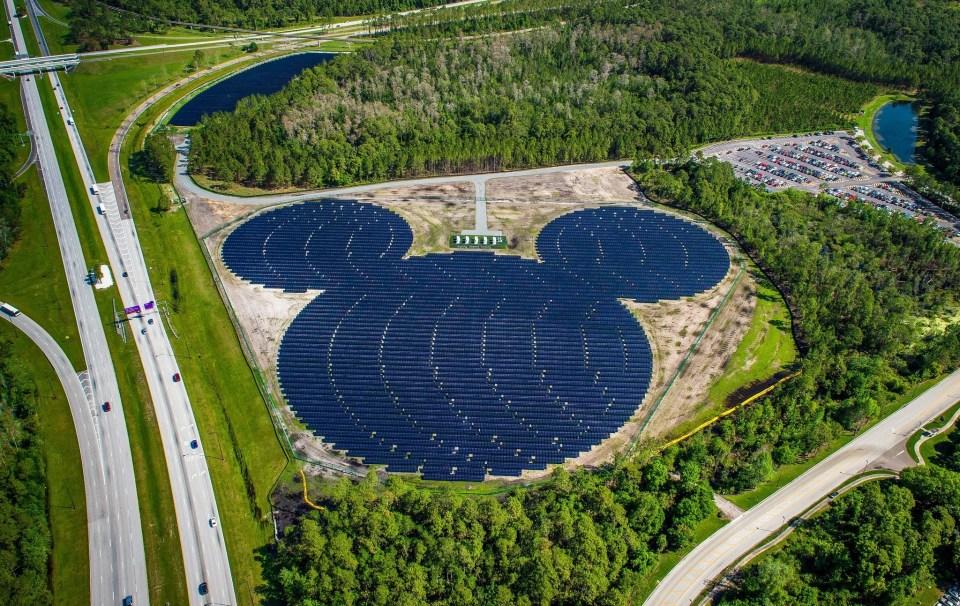 Disney - Solar Facility