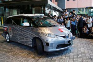 Driverless Minivan - Tokyo