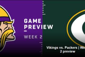 Packers vs. Vikings